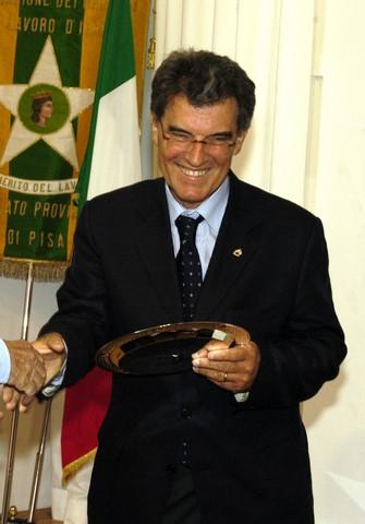 Il prof. Tommaso Fanfani