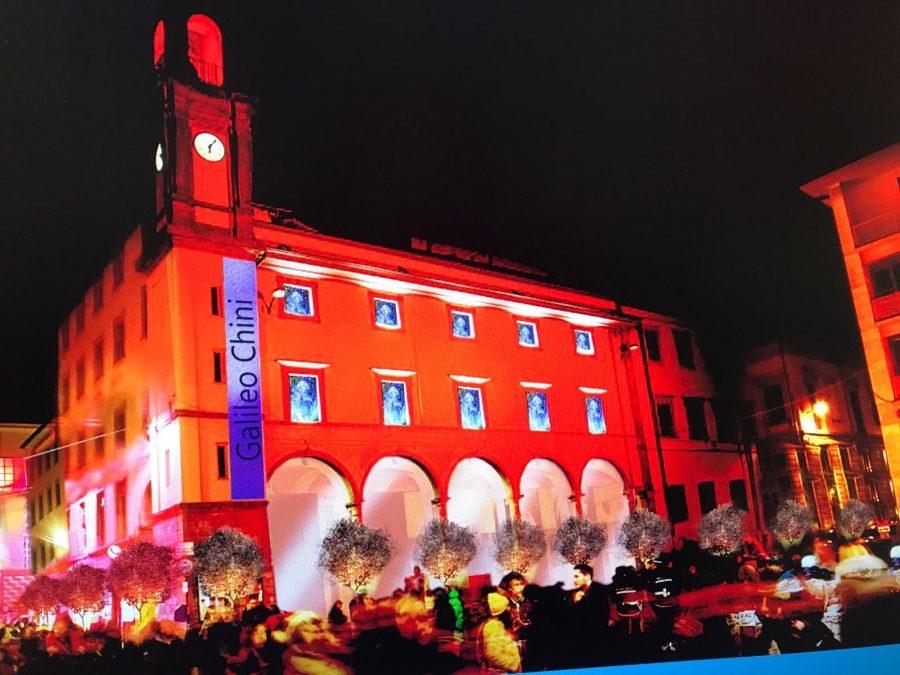Progetto arredo ed illuminazione natalizia del centro città. avviato